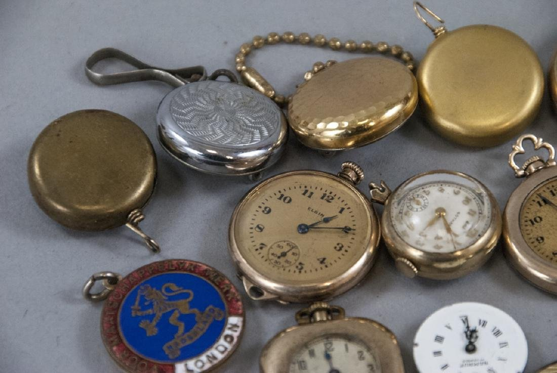 Antique & Vintage Pocket Watches, Cases, Parts - 7