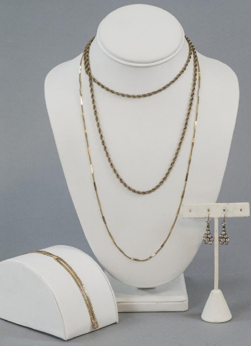 Estate Low Karat & Gold Filled Jewelry Group