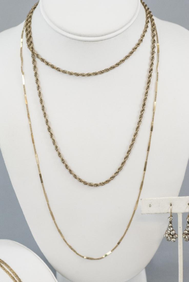 Estate Low Karat & Gold Filled Jewelry Group - 2