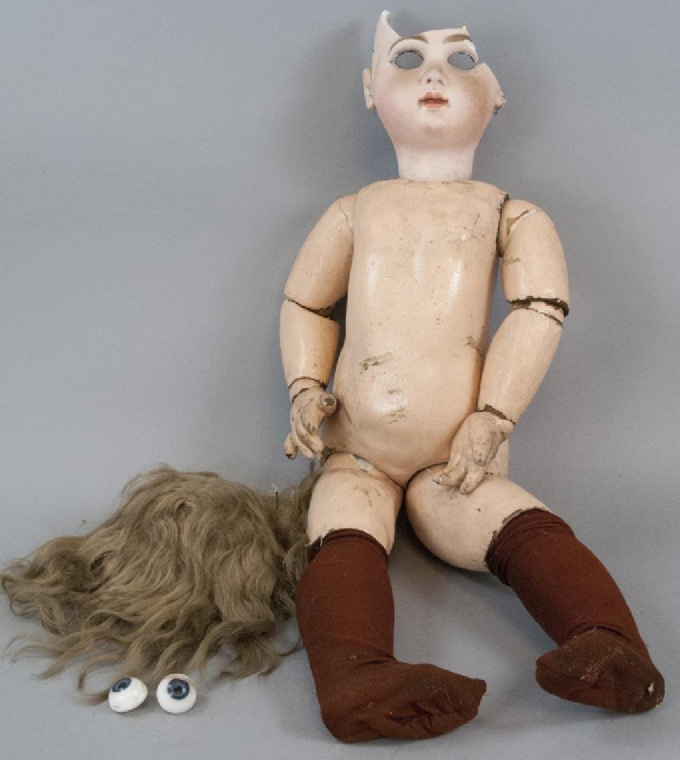 Antique 19th C French Tete Jumeau Bebe Doll