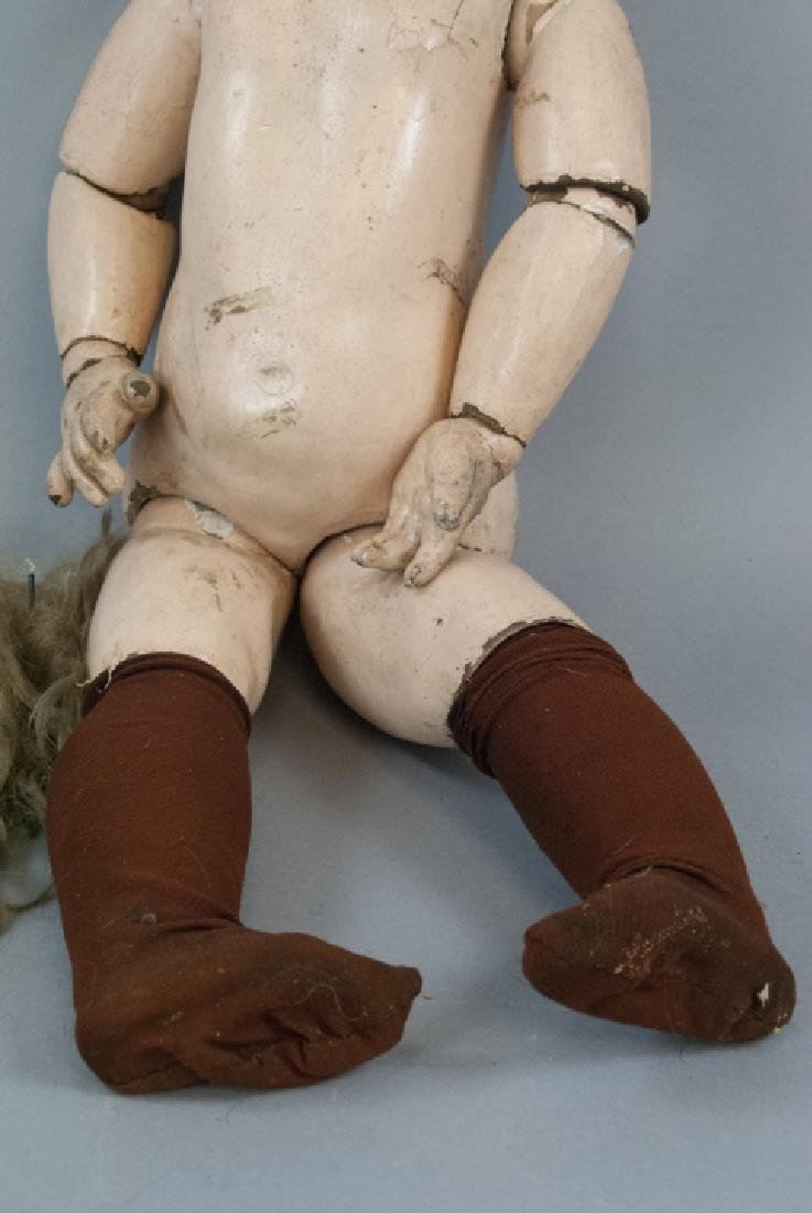 Antique 19th C French Tete Jumeau Bebe Doll - 4