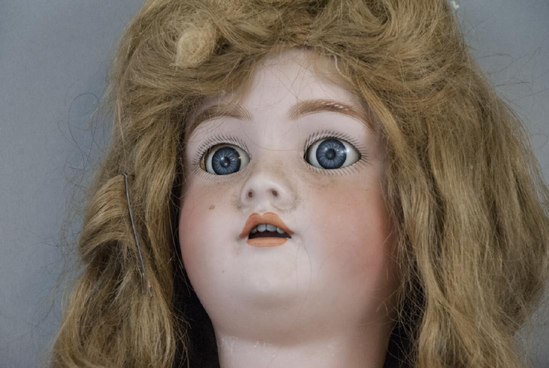 Large Antique German Doll 109 Dep Handwerck - 2