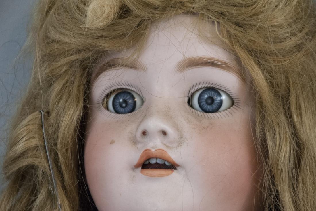 Large Antique German Doll 109 Dep Handwerck - 3