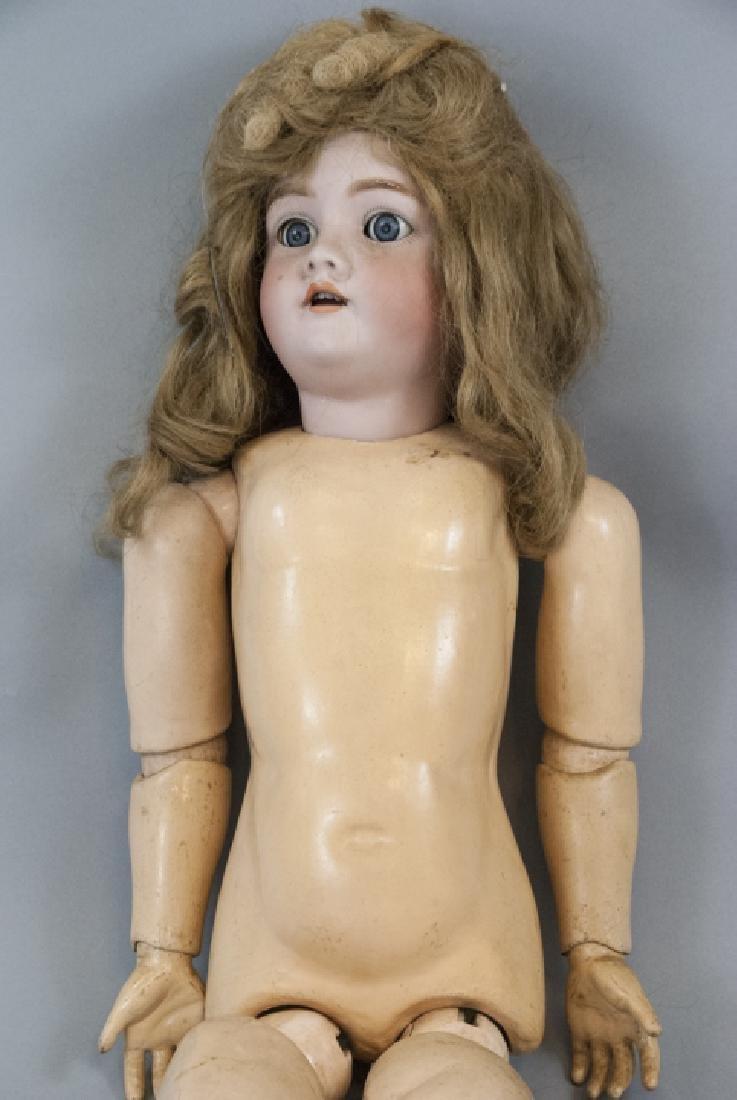 Large Antique German Doll 109 Dep Handwerck - 5