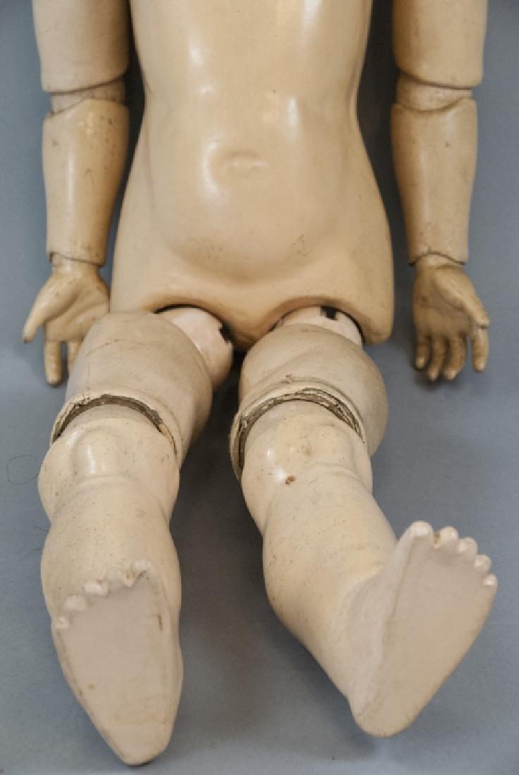 Large Antique German Doll 109 Dep Handwerck - 6