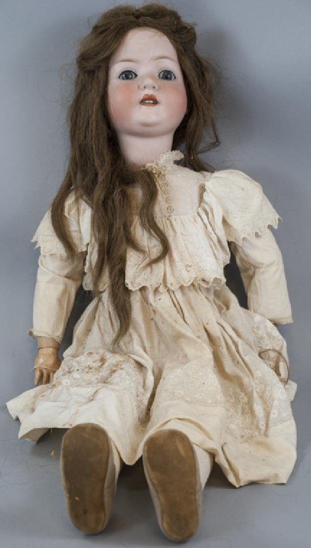 Large Antique German Doll Heubach Koppelsdorf 302