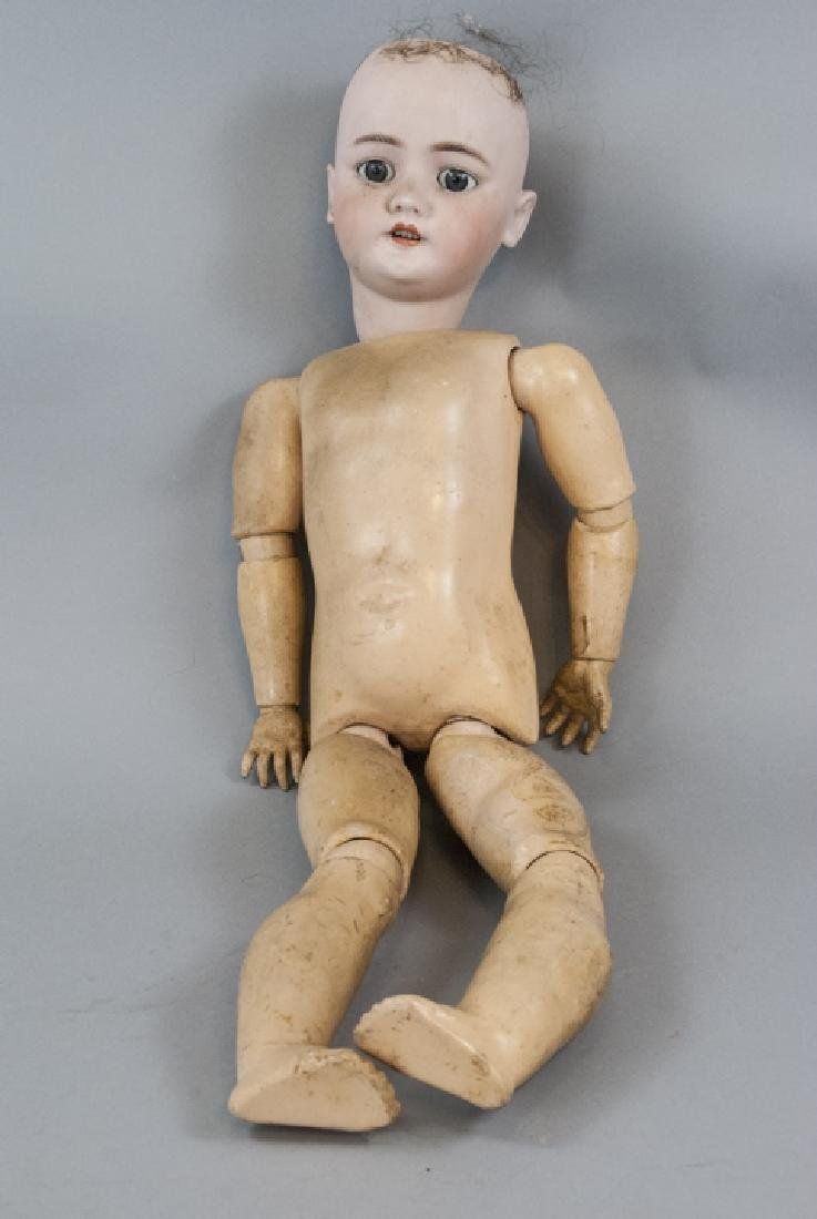 Large Antique German Doll Bergmann / Halbig