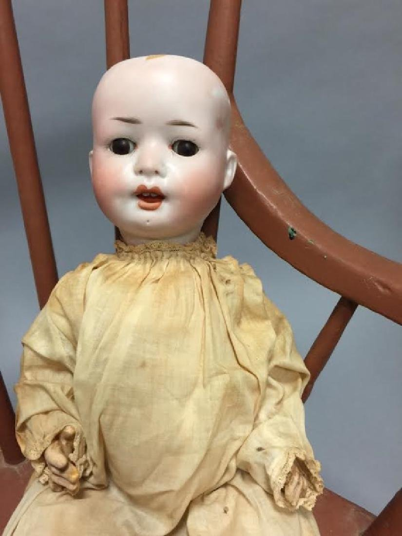 Antique German Bisque Head Baby Doll - 2