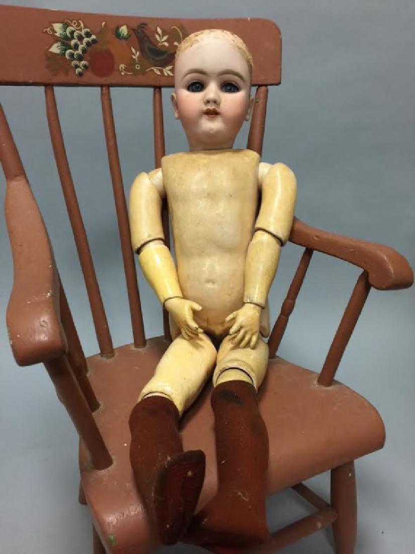 Antique German Bisque Head Doll 109 - 1334