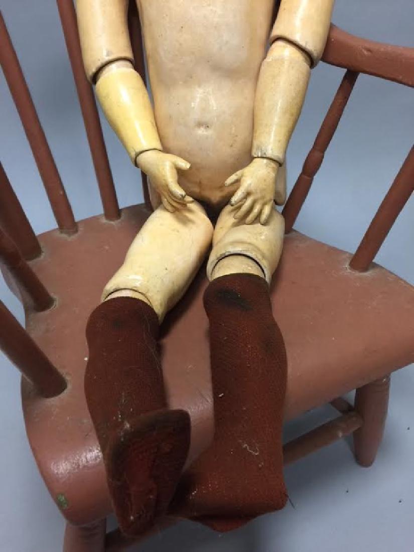 Antique German Bisque Head Doll 109 - 1334 - 2