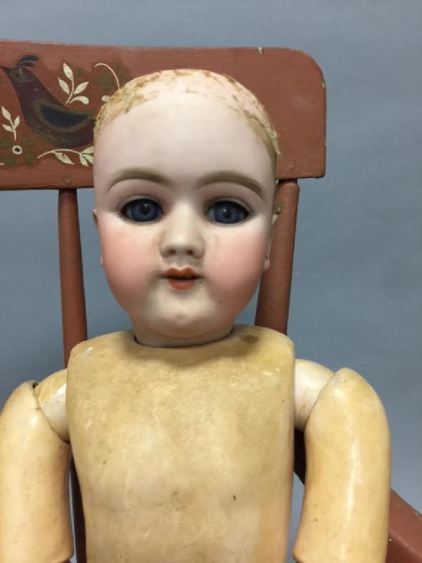 Antique German Bisque Head Doll 109 - 1334 - 4