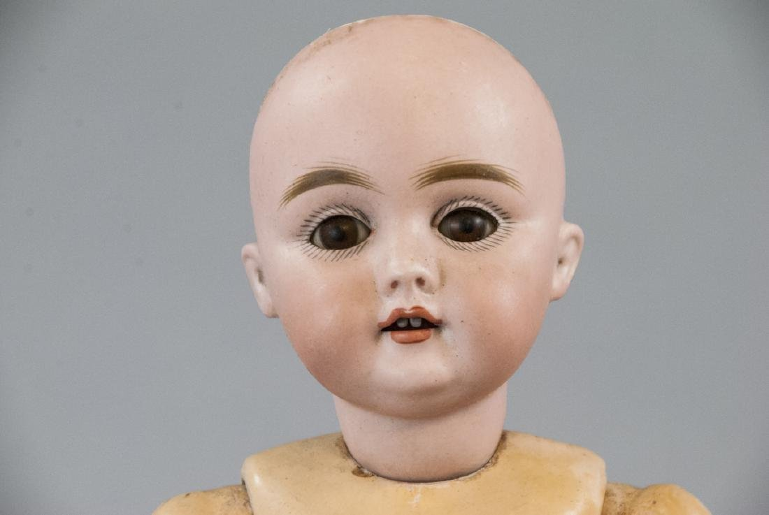 Antique German Mold 143 Bisque Head Doll - 6