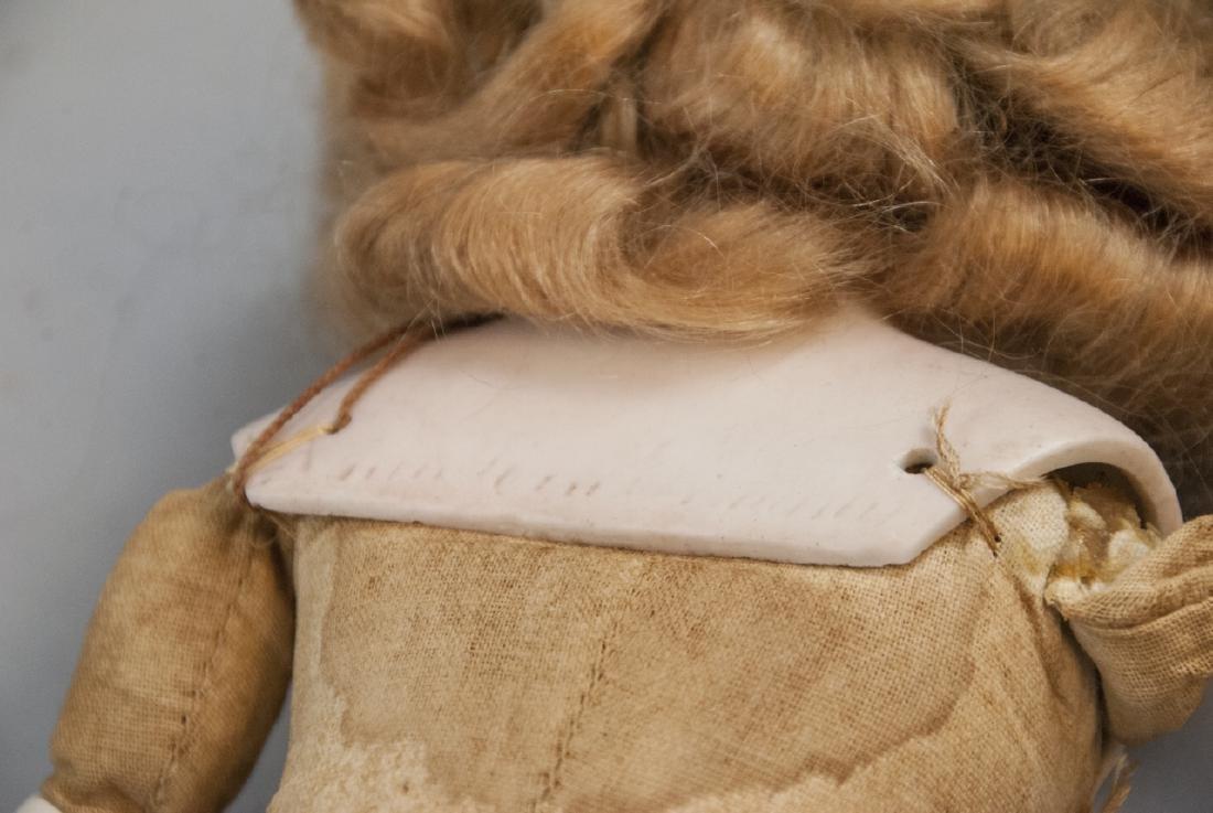 Three Antique German Bisque Head Dolls - 7