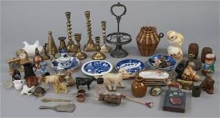 Group Antique & Vintage Dollhouse & Miniatures