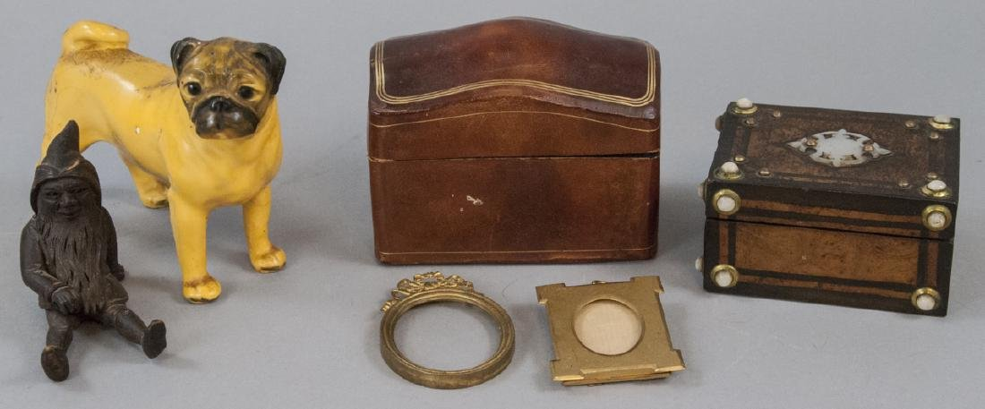 Jewelry Boxes, Miniature Frames & Statues