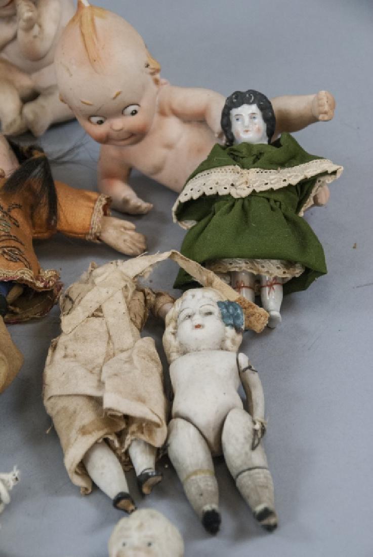 Antique & Vintage All Bisques & Dollhouse Dolls - 2