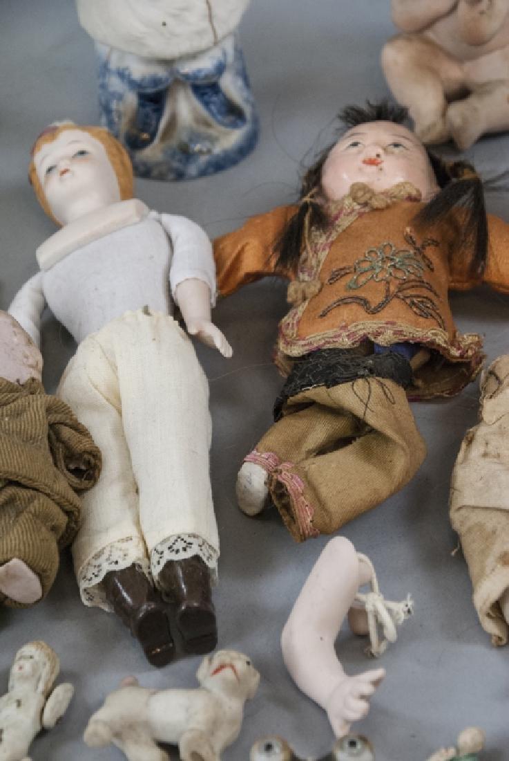 Antique & Vintage All Bisques & Dollhouse Dolls - 3