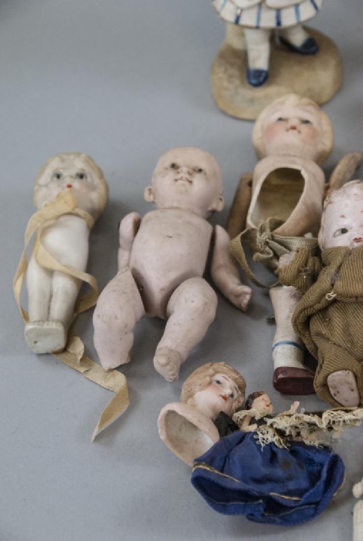 Antique & Vintage All Bisques & Dollhouse Dolls - 5