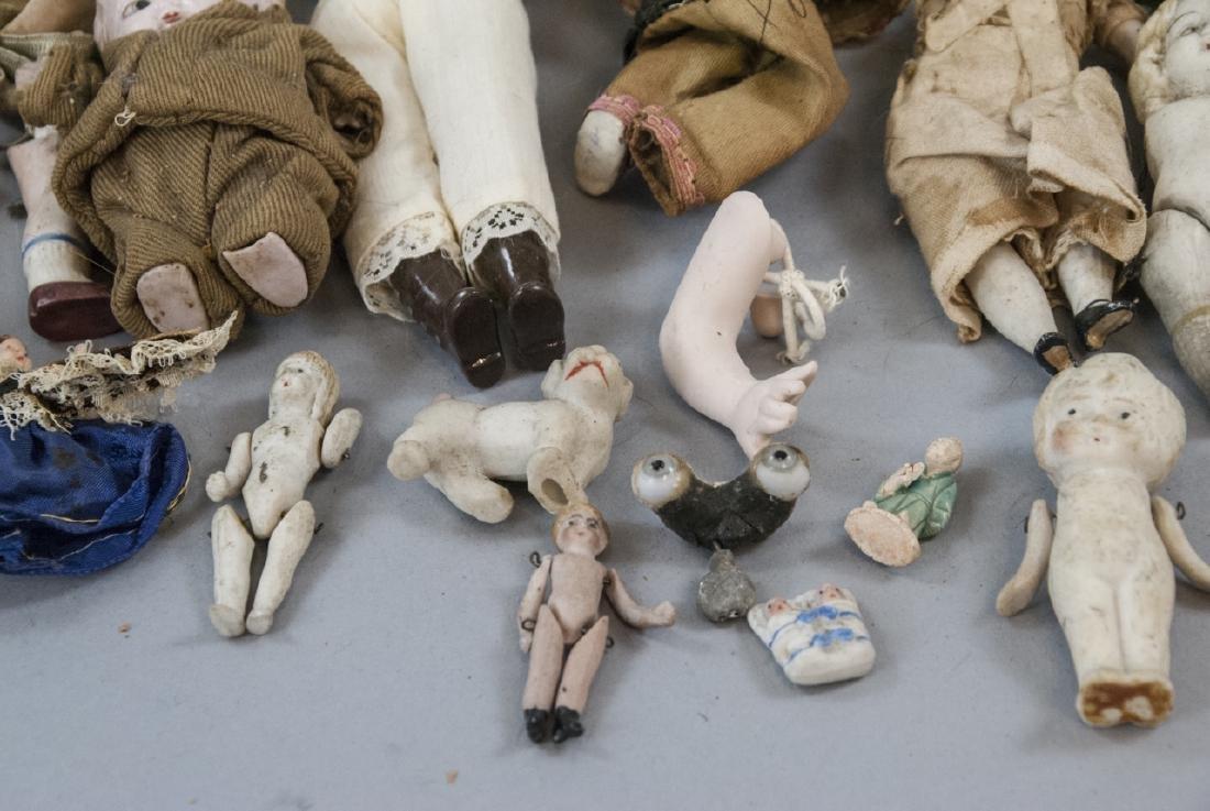 Antique & Vintage All Bisques & Dollhouse Dolls - 6