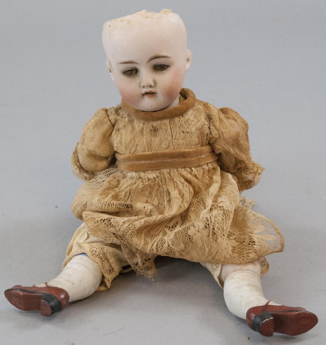 Antique German All Bisque Mold 130 Doll