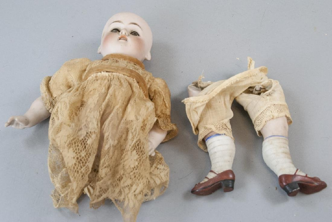 Antique German All Bisque Mold 130 Doll - 3