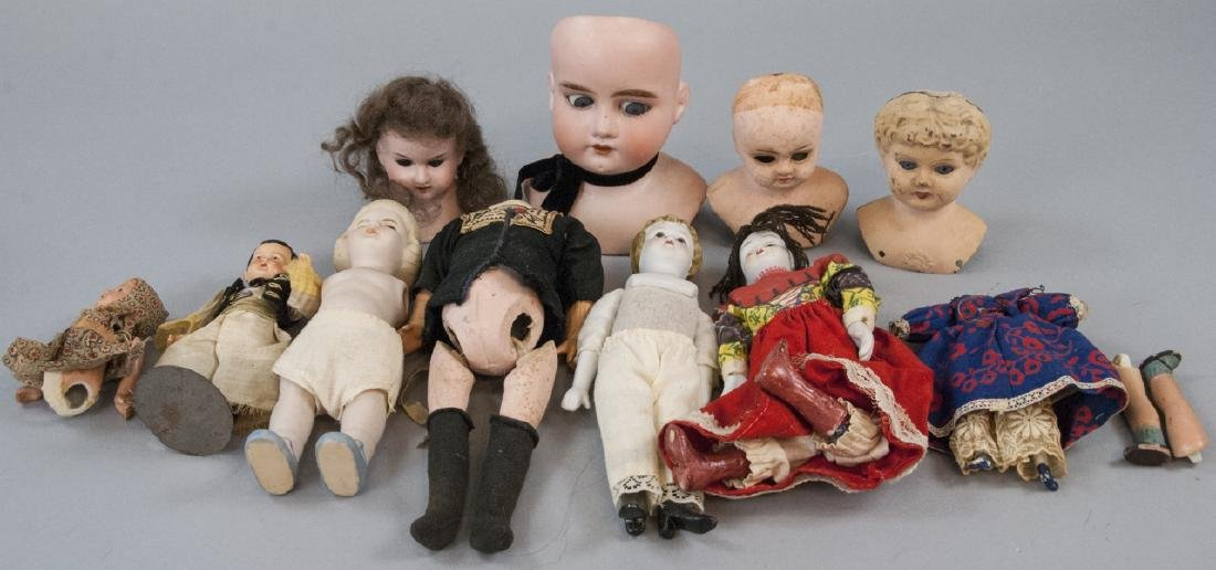 Antique & Vintage Dolls & Doll Heads
