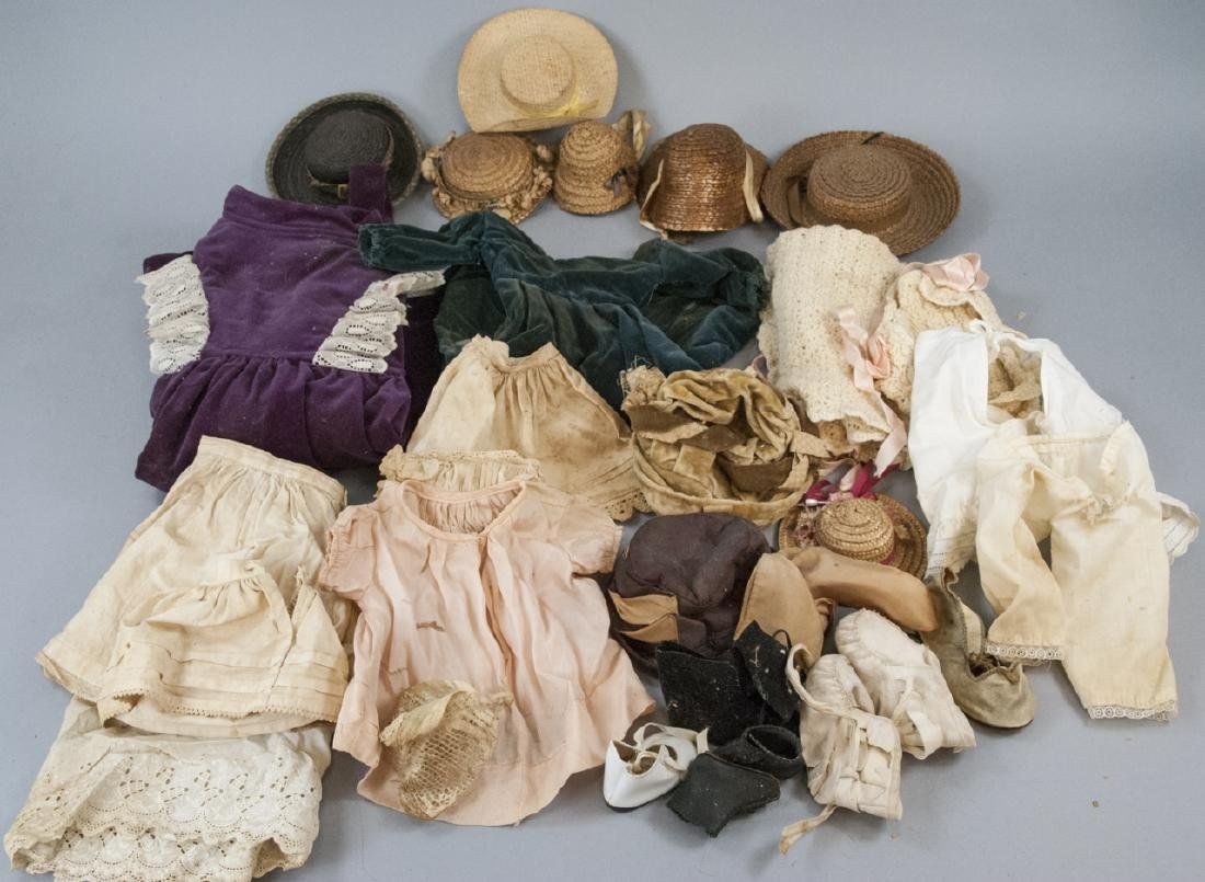 Antique & Vintage Doll Clothes / Hats