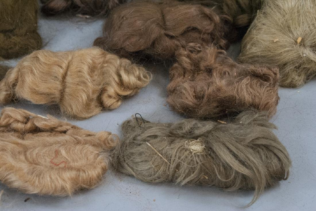 Group of Antique & Vintage Doll Wigs - 3