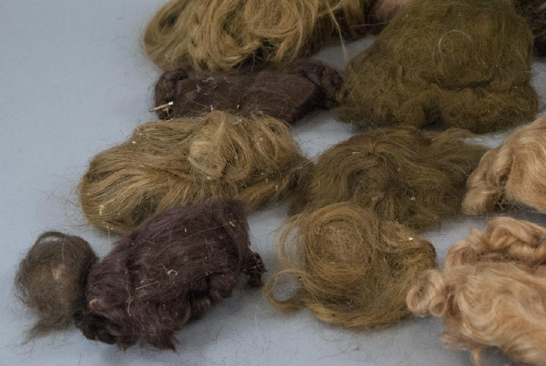 Group of Antique & Vintage Doll Wigs - 4