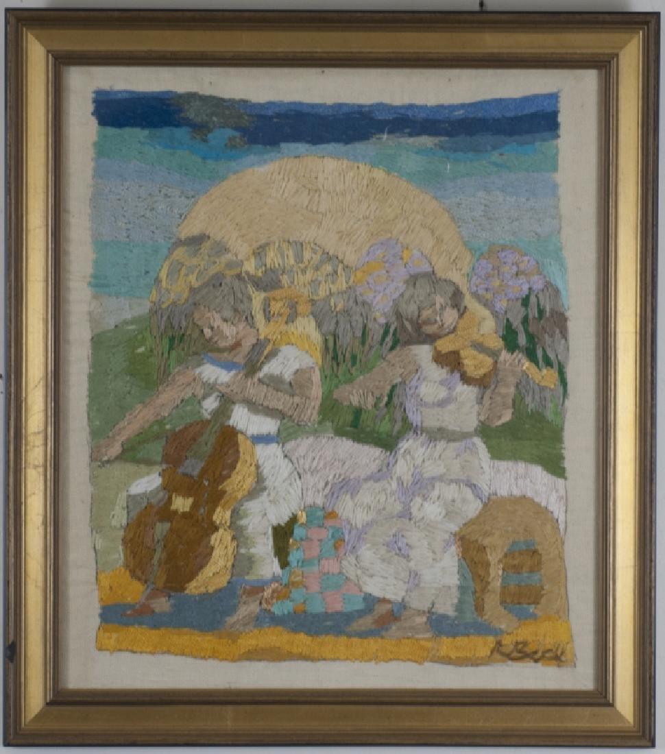 Rosemarie Beck (1923-2003) Original Embroidery