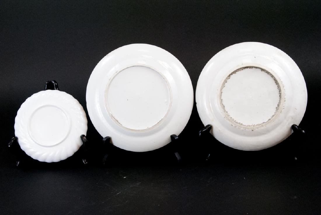 Three Chinese Hand Painted Porcelain Plates - 3