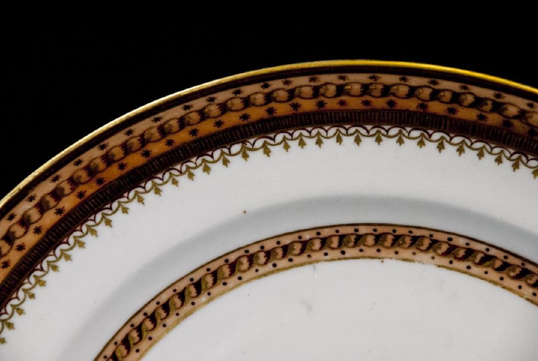 Pair Antique Chinese Export Porcelain Plates - 7