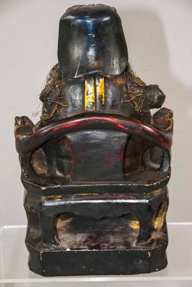 Chinese Handmade & Decorated Buddha Statue - 4
