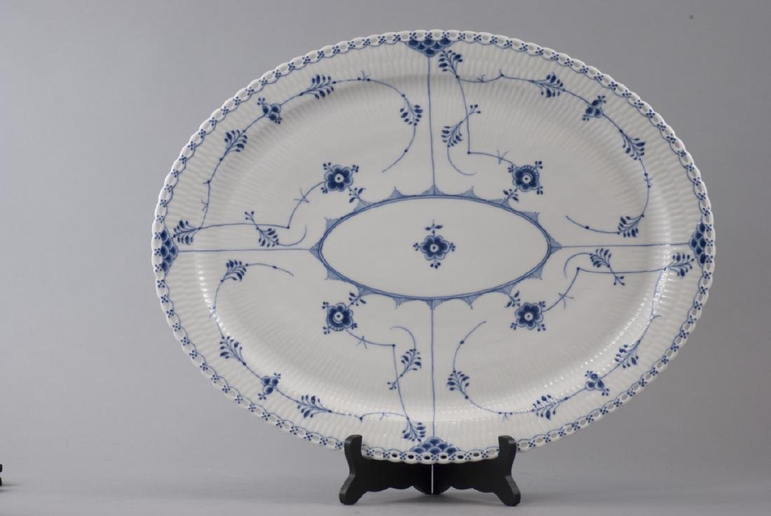 Large Royal Copenhagen Blue Onion Platter - 4