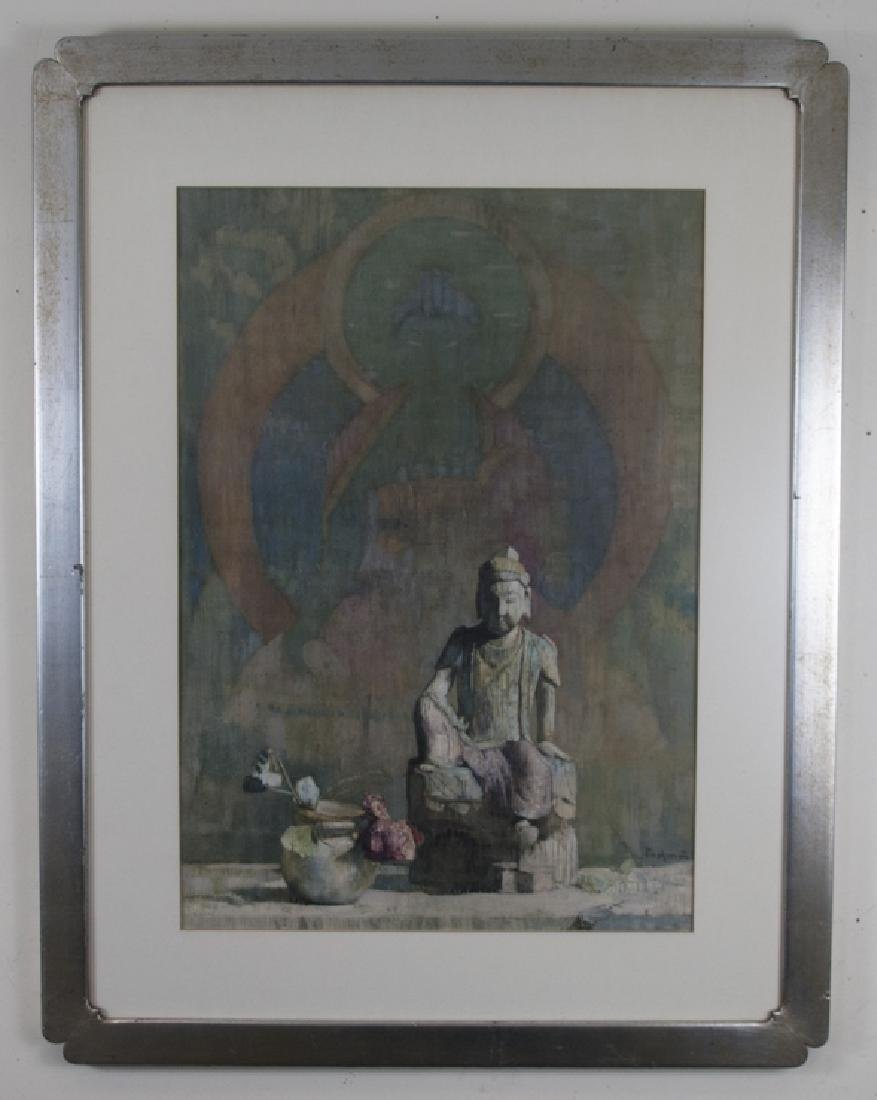 Hovsep Pushman (1877 – 1966) Framed Asian Print