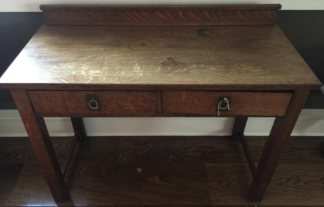 Antique Oak / Mission Style Console or Sideboard
