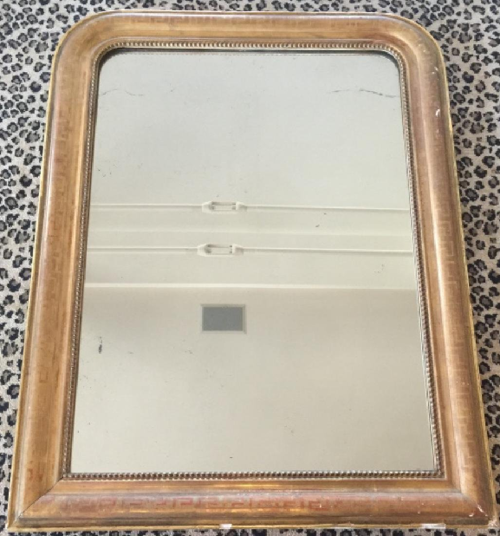 Antique 19th C Louis Philippe Wall Mirror - 3