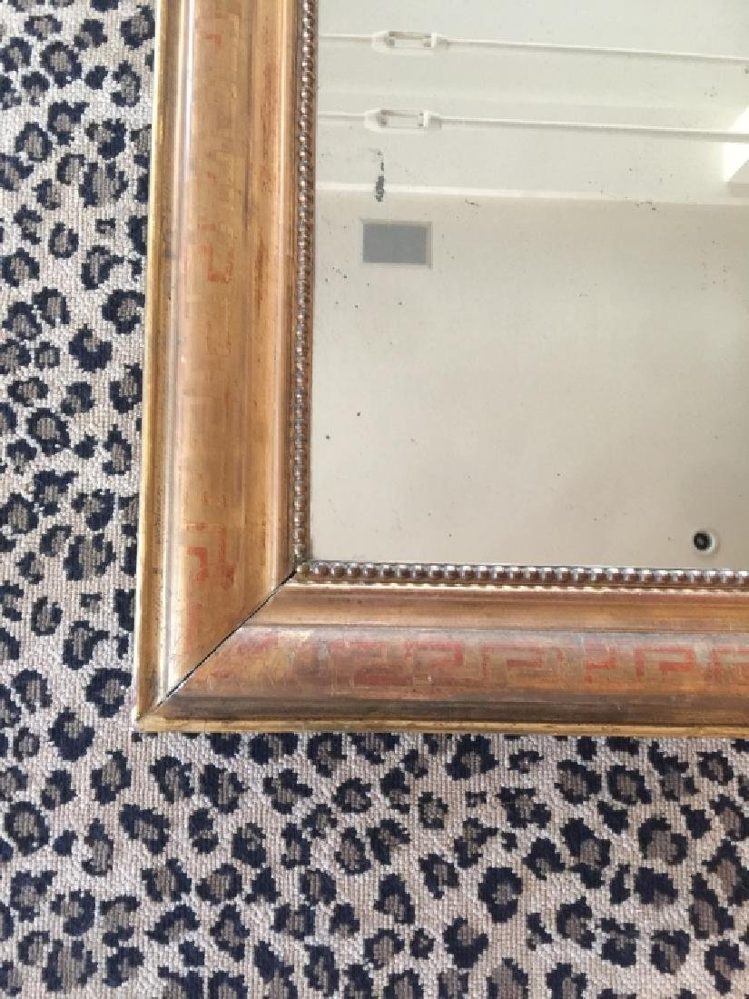 Antique 19th C Louis Philippe Wall Mirror - 4