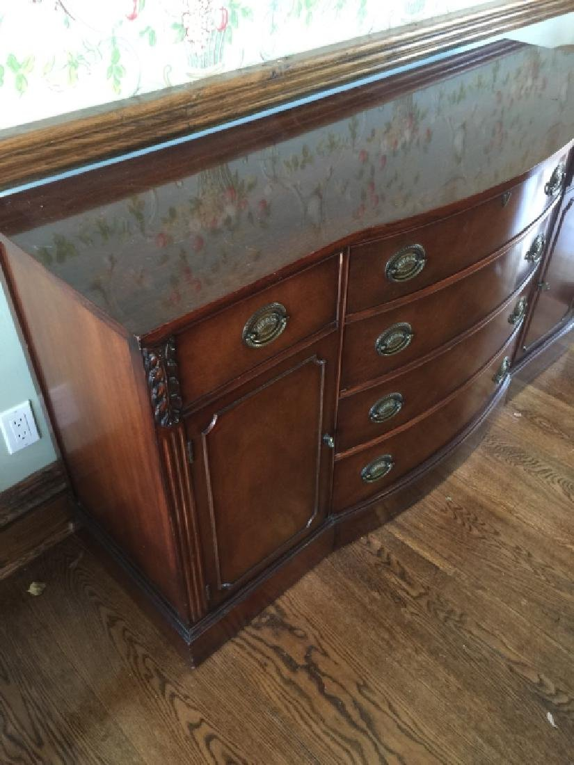 English Style Side Board / Console Cabinet - 4