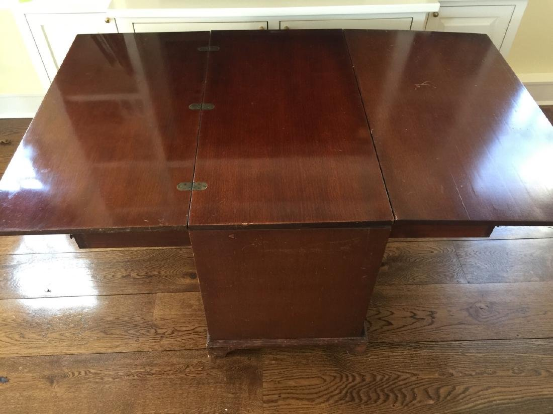 Antique Office Desk Convertible to Dining Table - 2