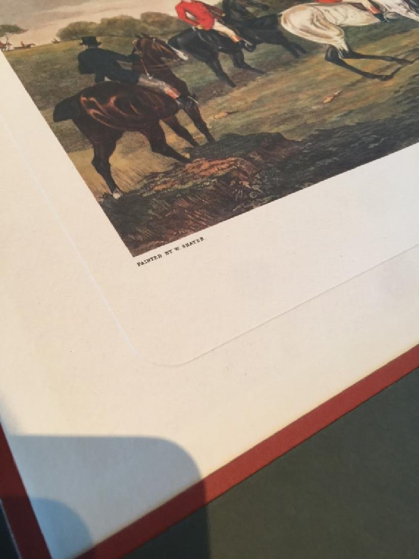 Group of Four Vintage English Hunting Prints - 2