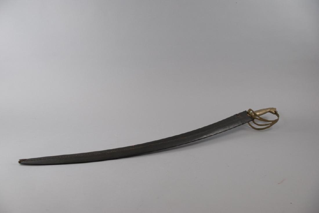 Vintage Gilt Horse Handle Indian Cavalry Sword - 3