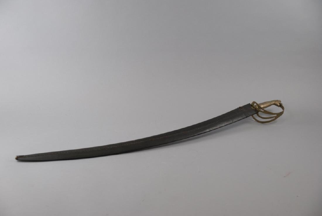 Vintage Gilt Horse Handle Indian Cavalry Sword - 4