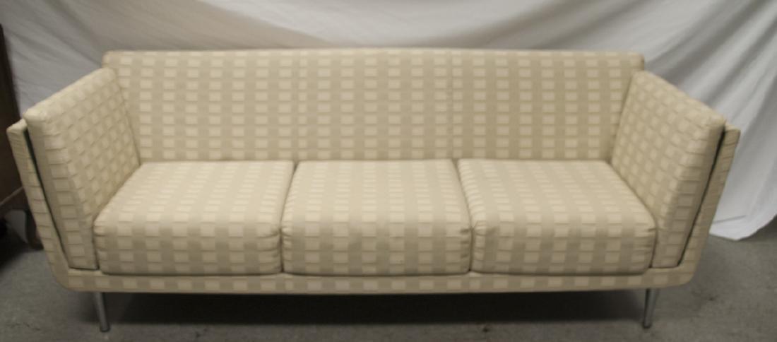 Herman Miller Mid Century Sofa w/ Beige Upholstery