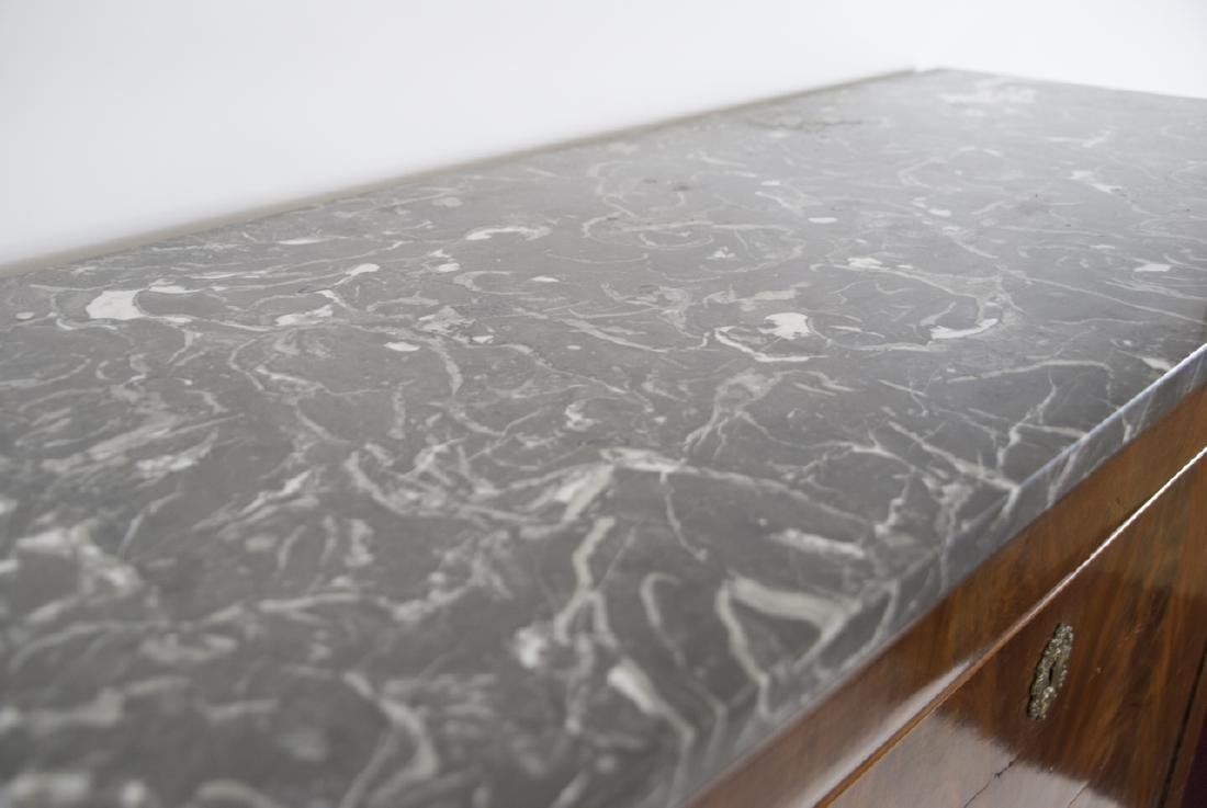 Antique Marble French Louis Philippe Style Desk - 2