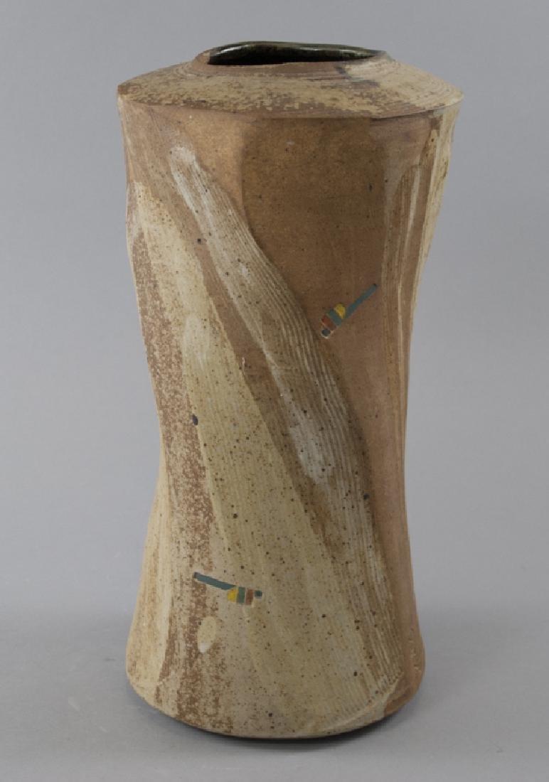 Mid Century Ceramic Vase Singed 'Haas'