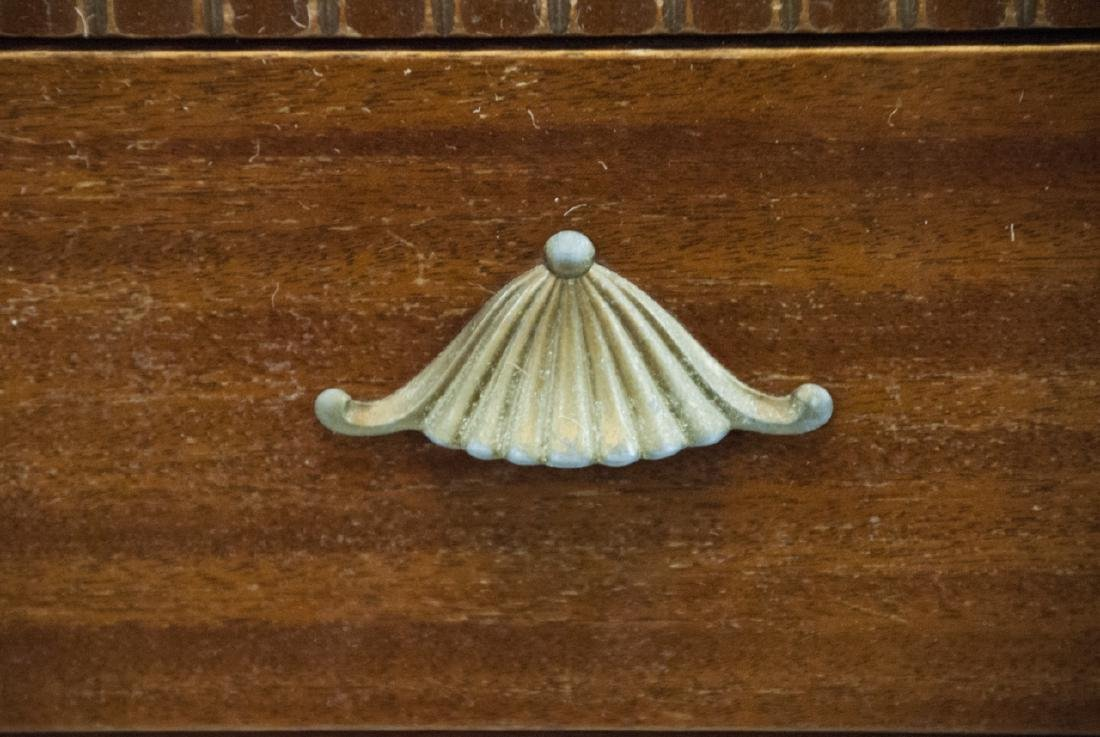 Vintage RWAY Furniture Dresser W/ Shell Motifs - 2
