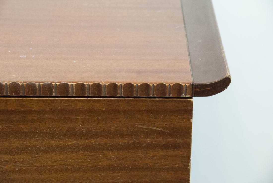 Vintage RWAY Furniture Dresser W/ Shell Motifs - 3