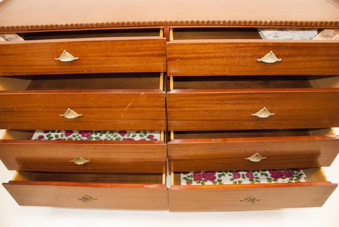 Vintage RWAY Furniture Dresser W/ Shell Motifs - 5