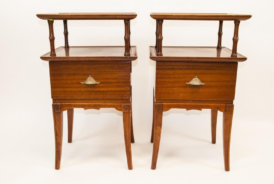 Pair Of Vintage RWAY Side Tables/Nightstands